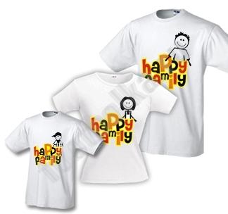 "Футболки для семьи ""Happy Family"""