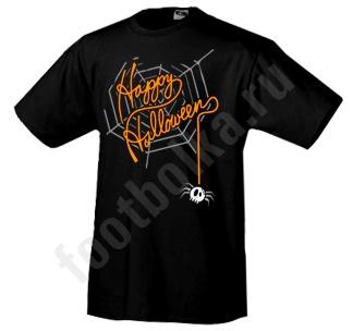 """Футболка halloween """"Happy Halloween /pauk/"""""""