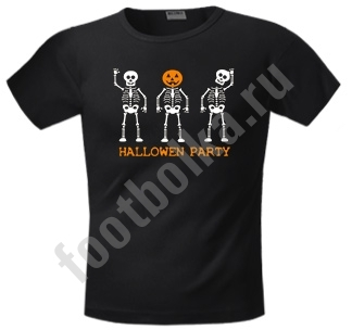 "Футболка halloween  ""Halloween party"""