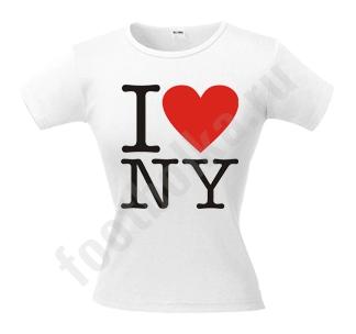 """Футболка """"I love NY"""""""