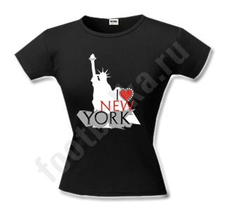 "Футболка женская ""I love New York"""