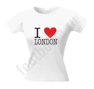 "Футболка женская ""I love London"""
