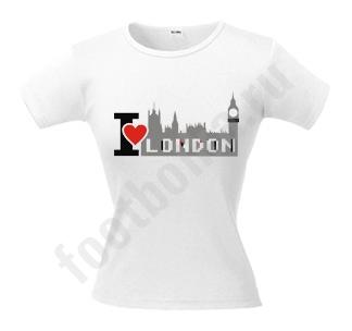Футболка i love london swarovski 1420 руб футболка