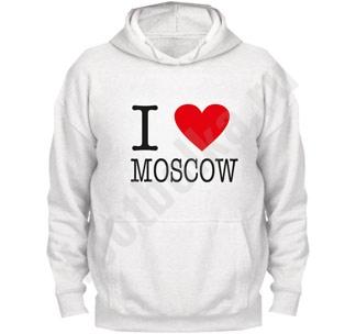 "Толстовка ""I love Moscow"""