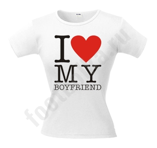 "Футболка ""I love my Boyfriend"""