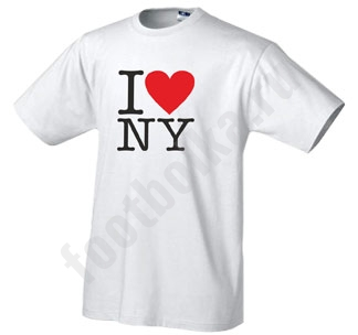 "Футболка ""I love New York"""