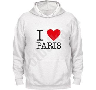 "Толстовка ""I love Paris"""