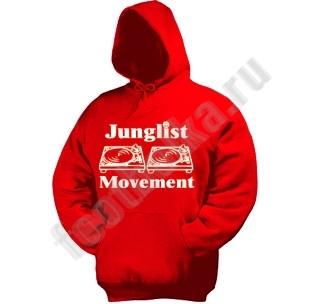 """Толстовка-кенгурушка """"Junglist Movement"""""""