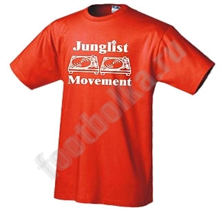 "Футболка ""Junglist Movement"""