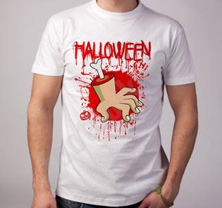"""Футболка halloween """"Рука"""""""