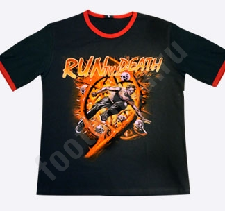 "Футболка Max-Extreme ""Run till Death"""
