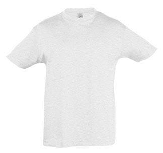 """""""Детская футболка"""" серый меланж арт. 1886.16 SALE"""