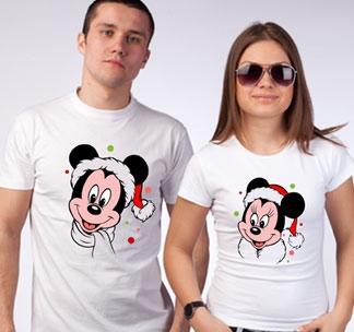 """Футболка мужская """"Микки и Минни"""" SALE"""