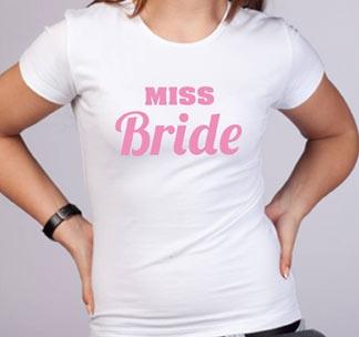 """Футболка """"Miss Bride"""""""
