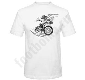 """Футболка """"Live Ride Moto"""""""
