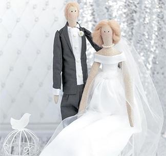 "Набор для творчества ""Свадебные куклы Mr&Mrs"""