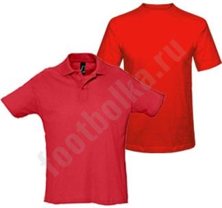 Комплект: рубашка поло и футболка