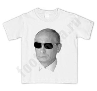 """Футболка детская """"Путин в очках"""""""