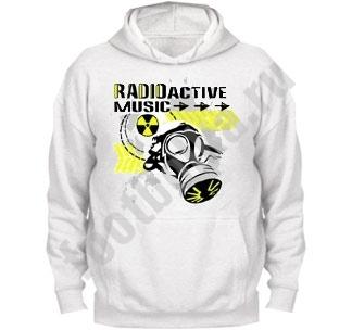 """Толстовка с капюшоном """"Radioactiv music"""""""