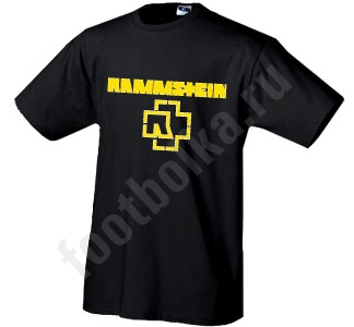 "Футболка ""Rammstein"""