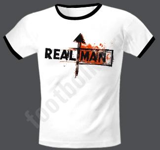 """Футболка мужская """"Real man"""""""