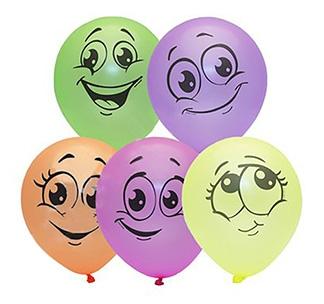 """Набор воздушных шаров """"Смайлики"""""""