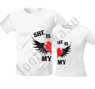 "Мужская футболка ""Моя любовь"" SALE"