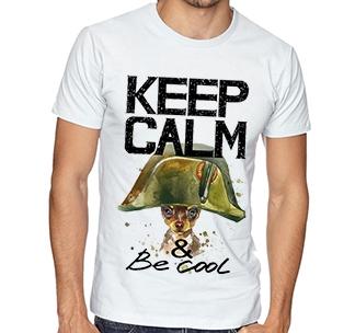"Футболка ""Keep calm"" Наполеон"