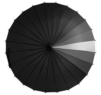 Зонт-трость «Спектр», черный арт 5380