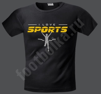 "Футболка ""Love sport"""