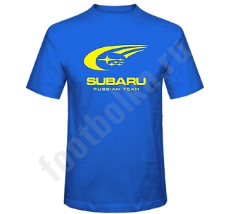 "Футболка ""Subaru Russian Team"""