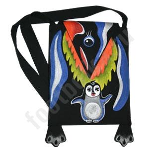 """Сумка """"Пингвин"""" авторская работа"""
