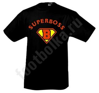 """Футболка """"SUPER BOSS"""" SALE"""