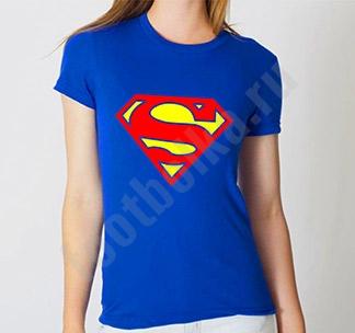 "Футболка ""Супермен ( Superman )"" женская"