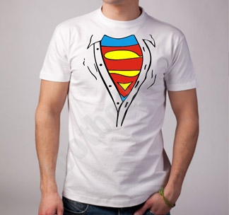"Футболка ""Супермен"" рубашка"