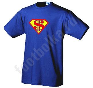 """Футболка """"Супермен"""" доллар"""