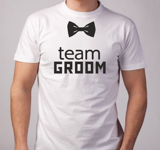 "Футболка ""Team Groom"""