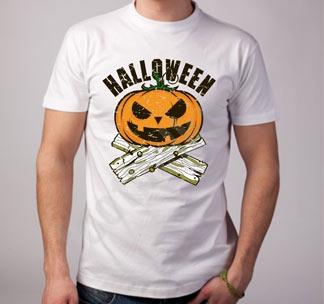 """Футболка halloween """"Тыква"""" дрова"""