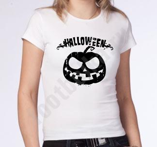 "Футболка halloween ""Черная тыква"""