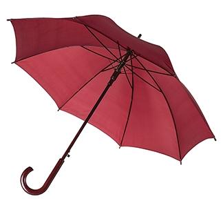 Зонт-трость с деревянной ручкой Бордо арт 393